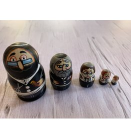Mini Jewish Barber Matryoshka