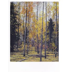 """Autumn in the Forest"" Notecard"