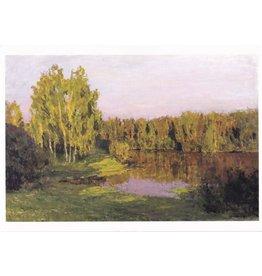 """Gritsai """"Evening Sun"""" Notecard"""