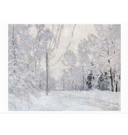 "Gritsai ""Frost"" Notecard"