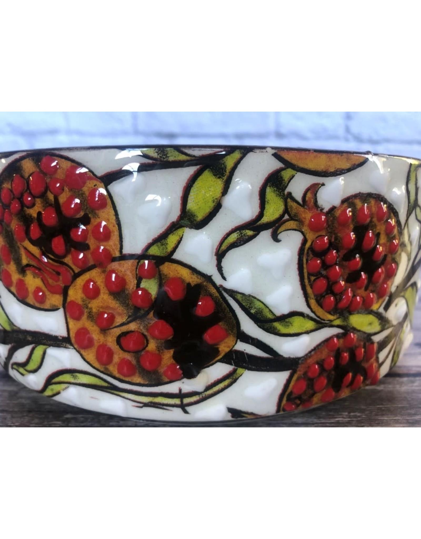 Black Sea Pottery Pomegranate Bowl Medium