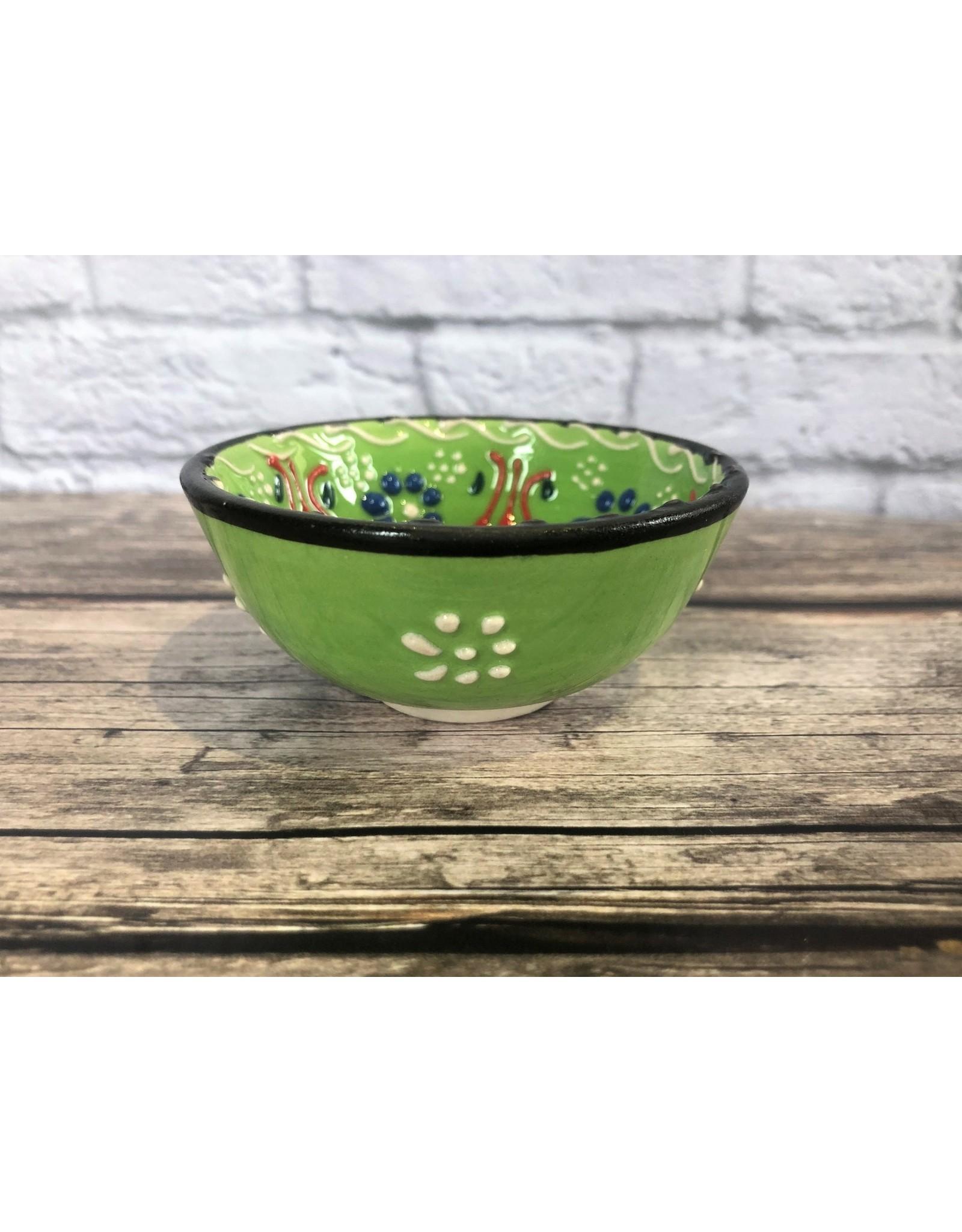 Black Sea Pottery Small Bowl in Green