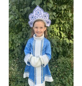 Snow Maiden Child's Holiday Headdress