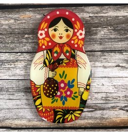 Matryoshka Magnet with Strawberries