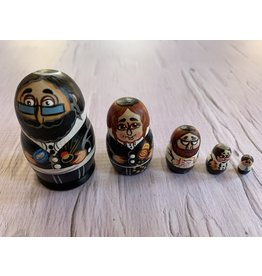 Mini Jewish Jeweler Matryoshka