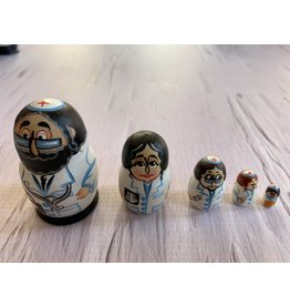 Mini Jewish Doctor Matryoshka