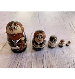 Mini Jewish Matryoshka with Cello