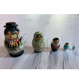 Traditional Jewish Matryoshka