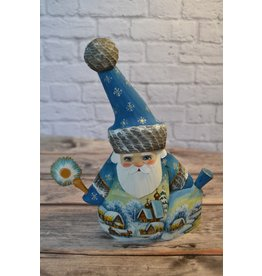 Midnight Sun Santa with Hat in Blue