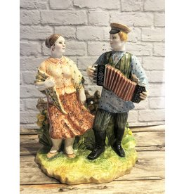 Kitmir Russian Date with Black Accordion