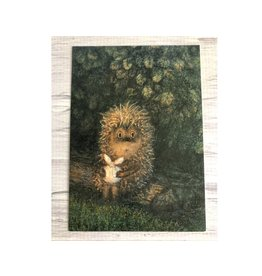 """""""Hedgehog in the Fog"""" Limited Postcard (Log)"""