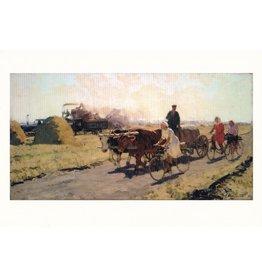 """""""On Kuban Virgin Land"""" Postcard"""