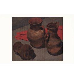 "Korzhev ""Still Life with Pots"" Postcard"