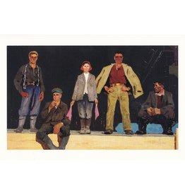 "Popkov ""Builders of the G.E.S. Brotherhood"" Postcard"