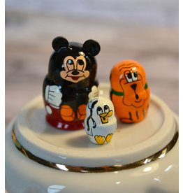 Mini Matryoshka Mickey Mouse (Five-Piece)