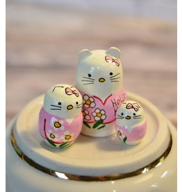 Mini Matryoshka Hello Kitty Pink (Five-Piece)