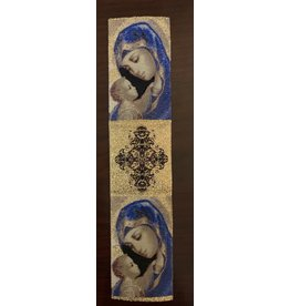 Madonna and Child with Cross Bookmark