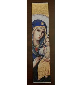 Madonna and Child Bookmark (White)