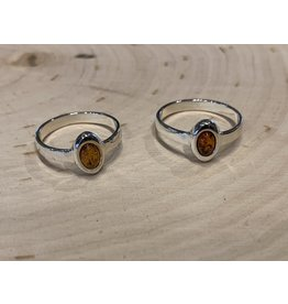 Amber Ring (Oval)