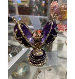 Fabergé Egg Spring Bouquet (Purple)