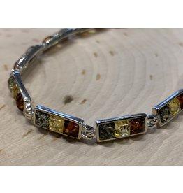 Tri-Color Amber Bracelet