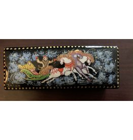 Lacquer Box with Troika (Purple Horse)