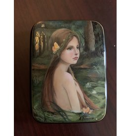 Lacquer Box with Forest Nymph