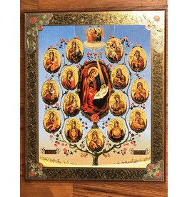 "Russian ""Nativity Tree"" Icon"