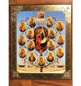 Tree of the Nativity Icon
