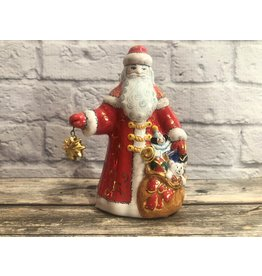 Kitmir Santa with Gold Star Figurine