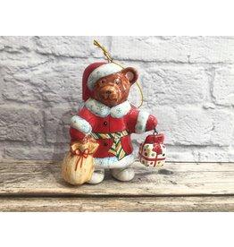 Kitmir Santa Claus Bear with Presents Ornament