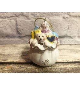 Kitmir White Sack of Presents Ornament