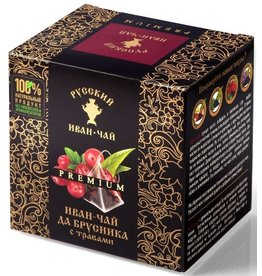 Ivan Chai (Black Tea) with Lingonberry and Herbs