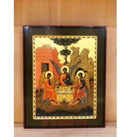 "Russian Orthodox ""Holy Trinity"" Icon (Vintage)"