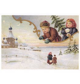 Holiday Notecard (Snowy Scene)