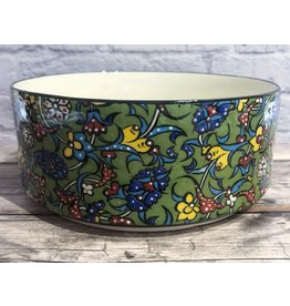 Black Sea Tapestry Bowl Green (Medium)