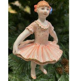 Kitmir Ballerina Ornament (Pink)