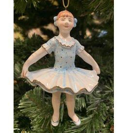 Kitmir Ballerina Ornament (Blue)
