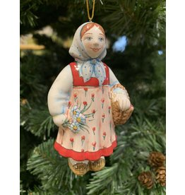 Kitmir Traditional Russian Girl Ornament (Large)