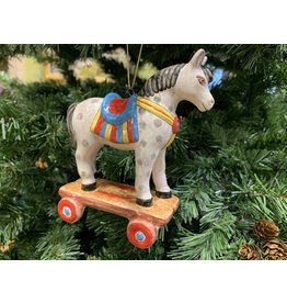 Kitmir Toy Horse Ornament (Large)