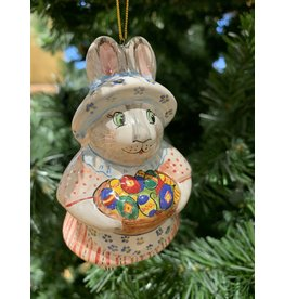 Kitmir Rabbit with Eggs Ornament