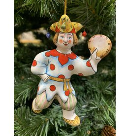 Kitmir Spotted Jester Ornament