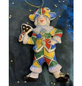 Kitmir Masquerade Ornament with Patchwork
