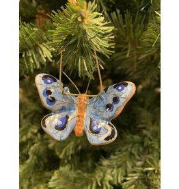 Kitmir Butterfly Ornament (Blue)