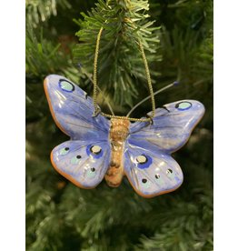 Kitmir Butterfly Ornament (Purple)