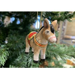 Kitmir Holiday Donkey Ornament