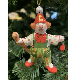 Kitmir Green Clown Ornament