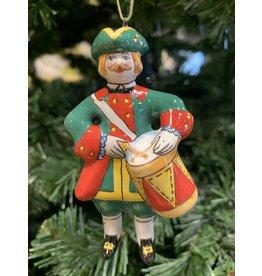 Kirmir Drummer Ornament (Green)
