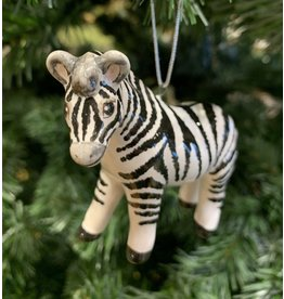 Kitmir Zebra Ornament