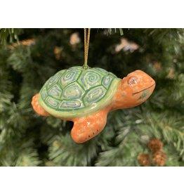 Kitmir Turtle Ornament (Green)